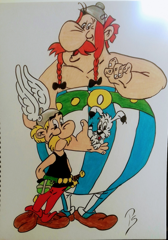 Obélix, Astérix by PenStilos